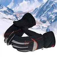 Непромокаемые перчатки зимние толстые теплые