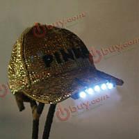 Светодиоды с креплением на кепку 5 LED