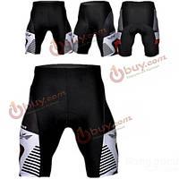 Велосипедные шорты мужские обтягивающие с памперсом