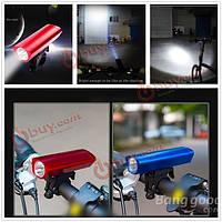 Фонарик водонепроницаемый Велоспорт передней LED лампы передней фары