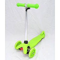 Трехколесный самокат Scooter Micro 95, самокат детский 3-х колесный, самокат для ребенка с подсветкой