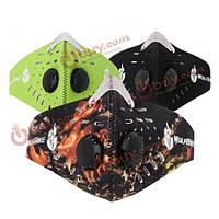 Пылезащитная маска с фильтрами Wolfbike 3-х цветов