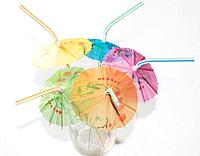 Трубочка для коктейля Зонтик 24см