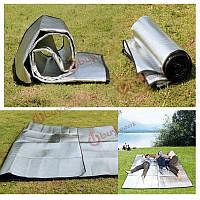 Кемпинг туризм влагостойкие коврик палатка алюминиевая пленка для пикника коврик коврик двухсторонняя