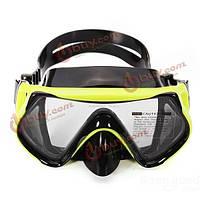Плавательная маска-очки закаленное стекло