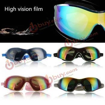 Плавательные очки регулируемые стеклянные