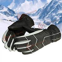 Водонепроницаемые перчатки лыжи зимой катание на лошадях тепло теплые ветрозащитные перчатки