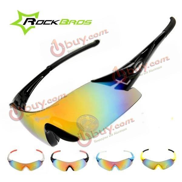 Rockbros красочный велосипед Велоспорт очки ветрозащитный очки