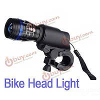 Регулируемая велосипед головного света LED зум фокус фары