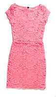 Платье розовое 32 размер (Д)