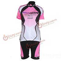 Велоспорт велосипед одежда рубашки Джерси и шорты S-XL для женщин