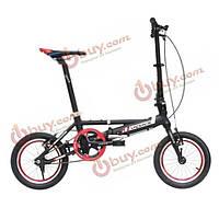 14-дюйма Mini складной велосипед алюминиевого сплава складной велосипед портативный складной велосипед езда на велосипеде