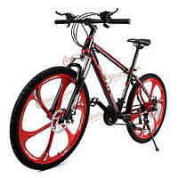 26 X 17-дюймов горный велосипед 21 скорость углеродистая стальная рама демпфирование велосипед Велоспорт