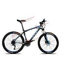 26-дюймов углерода горный велосипед велосипеда волокна рама велосипеда 27 скорость легкий велосипед