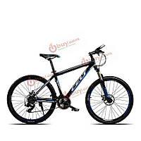 26-дюймов горный велосипед велосипед 24 скорость смены кадров масла дисковый тормоз из алюминиевого сплава