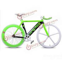 Inbike 700с фиксированных передач велосипед разноцветный алюминиевый прокат