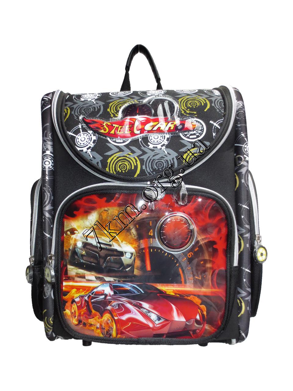 Школьный рюкзак для мальчиков Steel Car 12583-15 (35x35см)