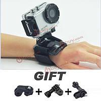 Ручной ремень слинг ремень для спортивных камер черный