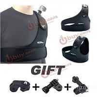 Нагрудный ремень регулируемый плечевой ремень-крепление для камеры спорта