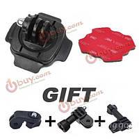 Спортивный шлем 360 градусов держатель головки отрегулируйте адаптер для камеры спорта