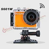 Видеокамера iShare s601w 1080p HD водонепроницаемая беспроводной доступ в интернет