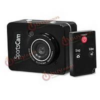 FullHD 1080p 2.4-дюймовые 5m пикселей коснуться камеры спорт цифровая видеокамера