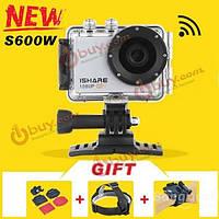 Камера спортивная водонепроницаемая s600w 1080p iShare