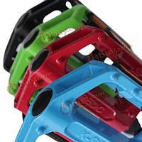 Педали велосипеда с отражателями алюминиевый сплав