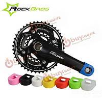 Rockbros велосипед кривошипно защитник шатунов фиксированных передач велосипед кривошипно установить защитную крышку дело