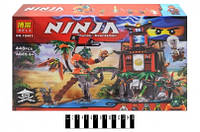 Конструктор BELA Ninja, 448 деталей.