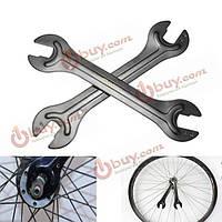 Велосипед ступица ось конуса гаечный ключ гаечный ключ головка открытый конец ремонта инструмента 13/14 15/16 мм