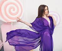 Пляжная туника шифоновая в разных расцветках 01384, фото 1