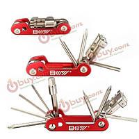 11в1 мульти ремонт велосипеда отверток Набор инструментов T25 гаечный ключ с цепью для удаления заклепок