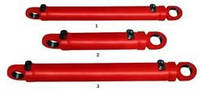 Гидроцилиндр опрокидования ковша погрусчика Т-156 Б, Гц 125. 63Х400. 11