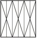 Решетка оконная сварная №3