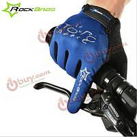 Rockbros осенние перчатки Полный Finger езда сенсорный экран противоскользящего унисекс оснащение для верховой езды