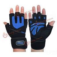 Занятия в тренажерном зале обруч запястья руки спорта по тяжелой атлетике перчатки сетка перчатки
