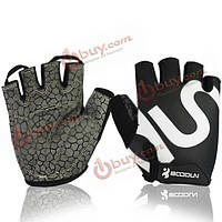 Унисекс фитнес езда перчатки силикагель антискользящий прибор гантель спортивная перчатка
