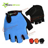 Rockbros велосипедные варежки перчатки велосипед короткий период пальца перчатки
