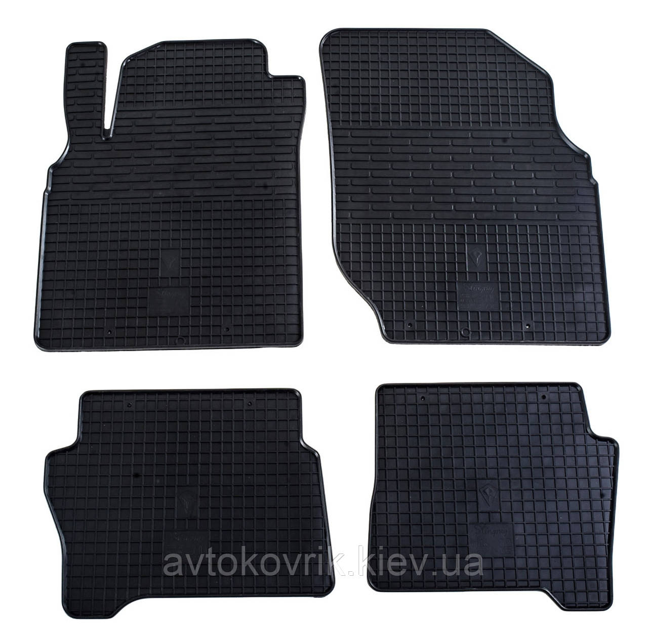 Резиновые коврики в салон Nissan Almera (N16) 2000-2006 (STINGRAY)