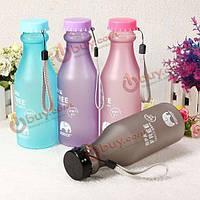 500мл 17oz BPA бесплатно на велосипеде велосипед спорта бутылки с водой пластиковые