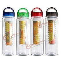 700мл фрукты стакана воды fuzer кемпинга вливая заварки чайник бутылки воды спорт здоровье