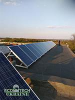 """Солнечная сетевая электростанция мощьностью 10 кВт """"Марянское 10"""""""