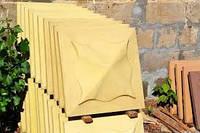 Комплектующие для забора жолтая