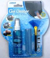Чистящий комплект KCL-1031 (жидкость+салфетка+щетка)