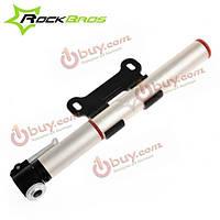 Rockbros алюминиевого сплава Mini велосипедный насос портативный насос MTB Шредера клапан Presta клапан