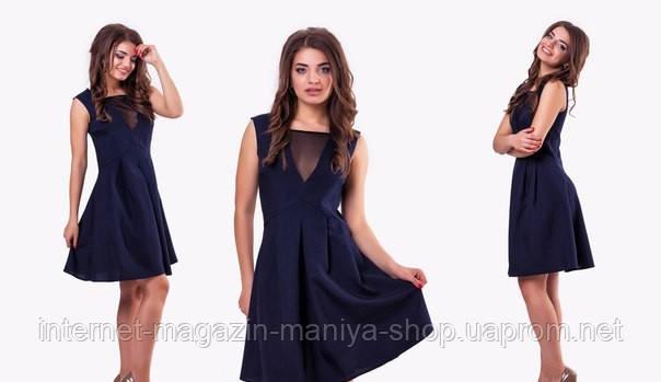 Платье женское сетка