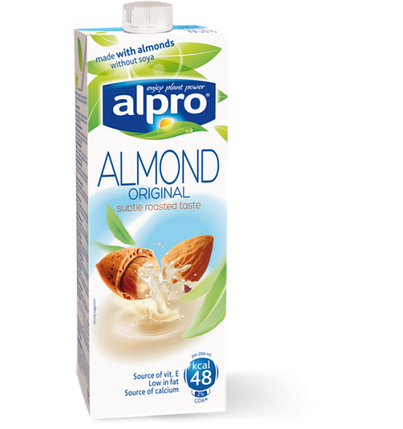 Миндальное молоко Alpro, 1л, фото 2
