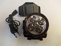 Аккумуляторный фонарь налобный Yajia YJ-1829-5