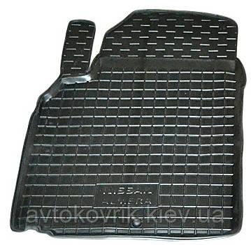 Полиуретановый водительский коврик в салон Nissan Almera (N16) 2000-2006 (AVTO-GUMM)